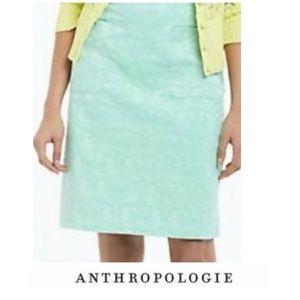 Anthropologie Moulinette Soeurs Brocade Skirt